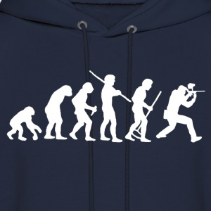 Evolution Of Paintball Hoodies - Men's Hoodie