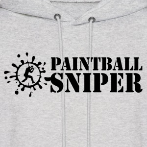 Paintball sniper Hoodies - Men's Hoodie
