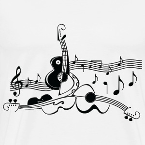 musical instruments - Men's Premium T-Shirt