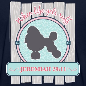 Scripture Dog, Poodle - Women's T-Shirt