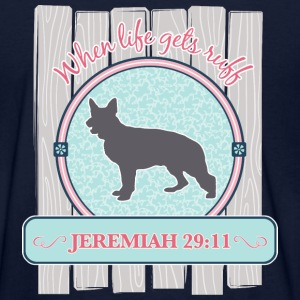 Scripture Dog, Shepherd - Women's T-Shirt