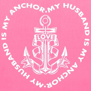 My Husband Is My Anchor Bags & backpacks - Tote Bag