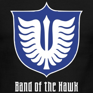 Band of the Hawk emblem - Men's Ringer T-Shirt