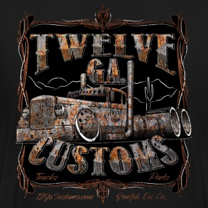 12 Ga Customs Rat Rod Shirt - Men's Premium T-Shirt