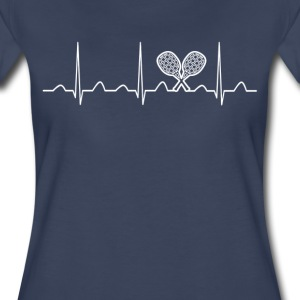 Tennis Heartbeat - Women's Premium T-Shirt