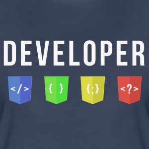 developer web Women's T-Shirts - Women's Premium T-Shirt
