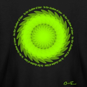 Floral-wheel-neongreen Kids' Shirts - Kids' Long Sleeve T-Shirt