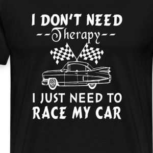 Race my car - Men's Premium T-Shirt