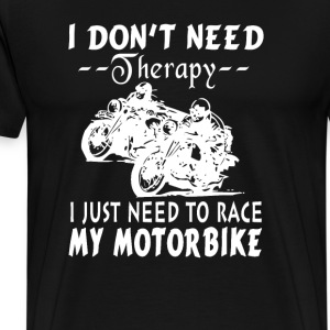 RACE MY MOTORBIKE - Men's Premium T-Shirt