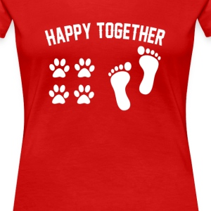 Happy together - Women's Premium T-Shirt