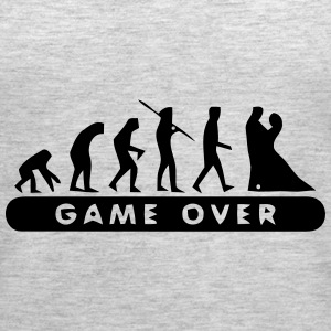 MARRIAGE - GAME OVER Tanks - Women's Premium Tank Top