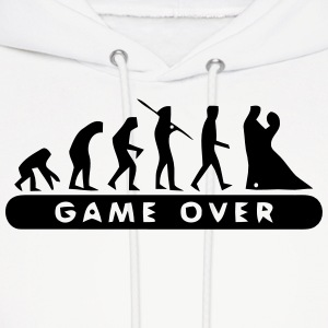 MARRIAGE - GAME OVER Hoodies - Men's Hoodie