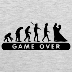 MARRIAGE - GAME OVER Tank Tops