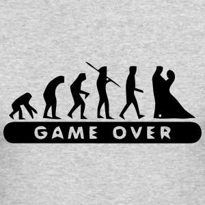 MARRIAGE - GAME OVER Long Sleeve Shirts - Men's Long Sleeve T-Shirt by Next Level