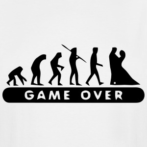MARRIAGE - GAME OVER T-Shirts - Men's Tall T-Shirt