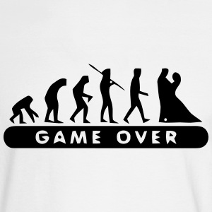 MARRIAGE - GAME OVER Long Sleeve Shirts - Men's Long Sleeve T-Shirt
