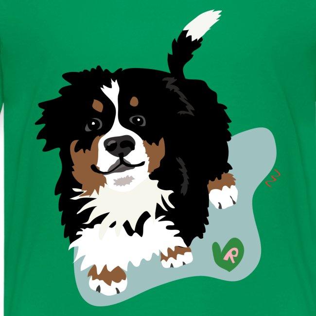 Kids' Tee | Bernese Mountain Puppy