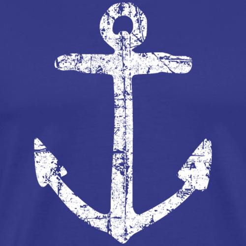 Anchor Vintage White Sailing Sailor Design