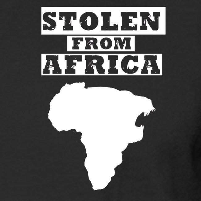Stolen From Africa Long Sleeve T-Shirt (White Crest)