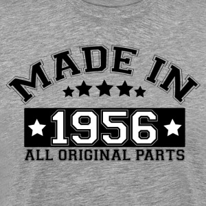 MADE IN 1956 ALL ORIGINAL PARTS T-Shirts - Men's Premium T-Shirt