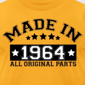 MADE IN 1964 ALL ORIGINAL PARTS T-Shirts - Men's T-Shirt by American Apparel