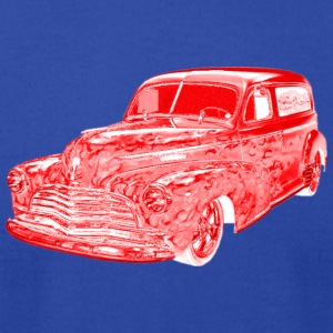 1946 Chevrolet Sedan RED T-Shirts - Men's T-Shirt by American Apparel