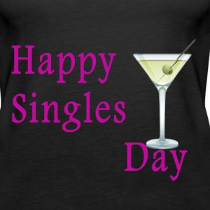 Women's Tank Top Happy SIngles Day - Women's Premium Tank Top