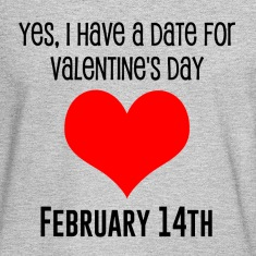 Men's LOng Sleeve T- Shirt Valentine's Date