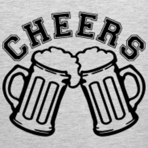 Men's Cheers Beer Tank - Men's Premium Tank