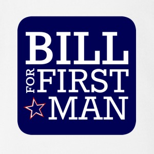 Bill for First Man! - Short Sleeve Baby Bodysuit