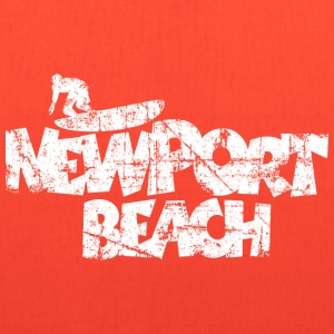 Newport Beach Surfing Vintage White Bags & backpacks - Tote Bag