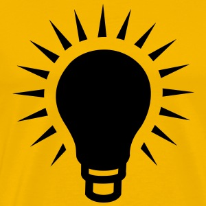 lightbulb T-Shirts - Men's Premium T-Shirt