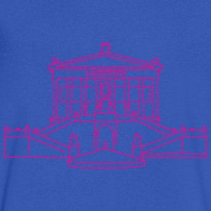 Nationalgalerie Berlin T-Shirts - Men's V-Neck T-Shirt by Canvas