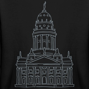 French Cathedral Berlin Kids' Shirts - Kids' Long Sleeve T-Shirt