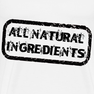 Natural Ingredients - Men's Premium T-Shirt