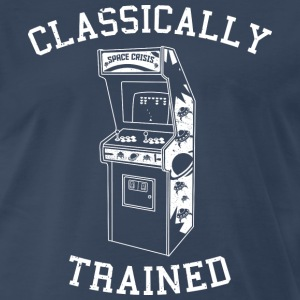 Classically Trained - Arcade - Men's Premium T-Shirt