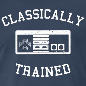 Classically Trained - Nes - Men's Premium T-Shirt