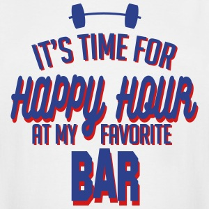 it's time for happy hour at my favorite bar C 2c T-Shirts - Men's Tall T-Shirt