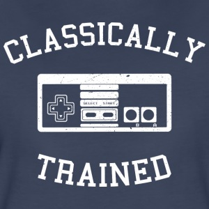 Classically Trained - Nes - Women's Premium T-Shirt