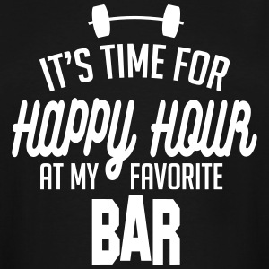 it's time for happy hour at my favorite bar C 1c T-Shirts - Men's Tall T-Shirt