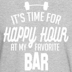 it's time for happy hour at my favorite bar C 1c Long Sleeve Shirts