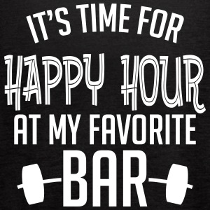 it's time for happy hour at my favorite bar B 1c Tanks - Women's Flowy Tank Top by Bella