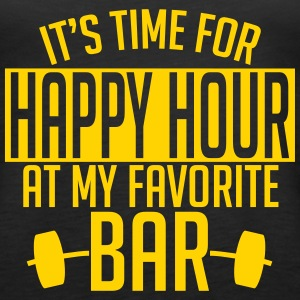 it's time for happy hour at my favorite bar A 1c Tanks - Women's Premium Tank Top