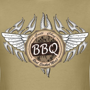 Grill Master Barbecue Chef T-Shirts - Men's T-Shirt
