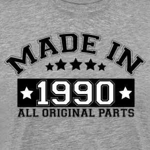 MADE IN 1990 ALL ORIGINAL PARTS T-Shirts - Men's Premium T-Shirt