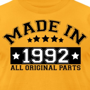 MADE IN 1992 ALL ORIGINAL PARTS T-Shirts - Men's T-Shirt by American Apparel