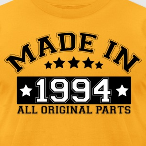 MADE IN 1994 ALL ORIGINAL PARTS T-Shirts - Men's T-Shirt by American Apparel
