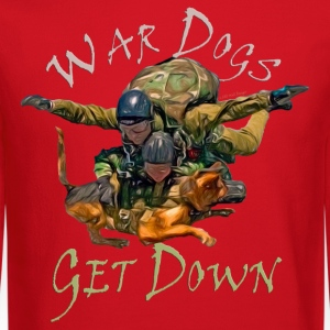 War Dogs Get Down #1 - Crewneck Sweatshirt