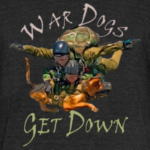 War Dogs Get Down #1 - Unisex Tri-Blend T-Shirt by American Apparel