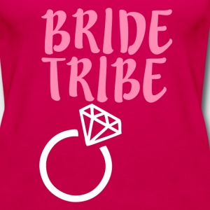 Bride Tribe Bridesmaid - Women's Premium Tank Top